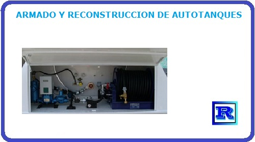 ARMADO Y RECONSTRUCCION DE AUTOTANQUES