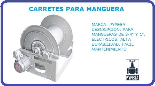 CARRETE PARA MANGUERA