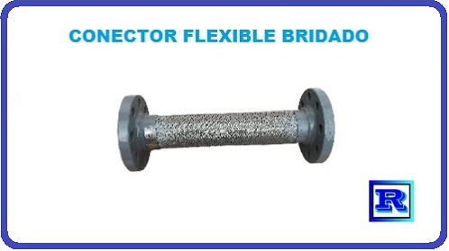 CONECTOR FLEXIBLE BRIDADO