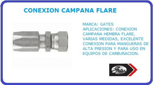 CONEXION CAMPANA GATES