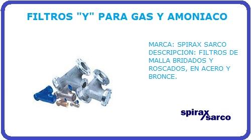 FILTROS Y SPIRAX SARCO
