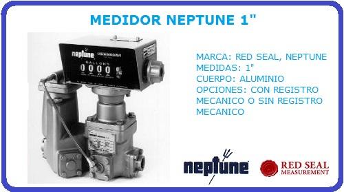 MEDIDOR NEPTUNE 1 PULGADA