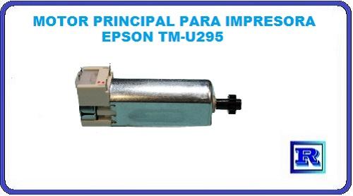 MOTOR PRINCIPAL EPSON