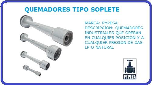 QUEMADOR TIPO SOPLETE