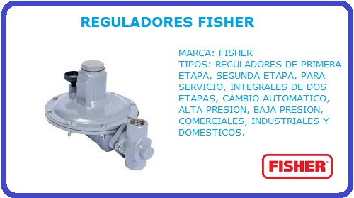 REGULADORES FISHER, REGULADOR FISHER, REGULADORES, FISHER