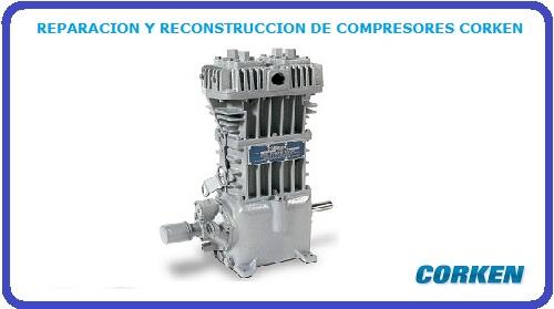 REPARACION Y RECONSTRUCCION DE COMPRESORES CORKEN