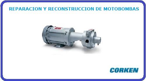 REPARACION Y RECONSTRUCCION DE MOTOBOMBAS
