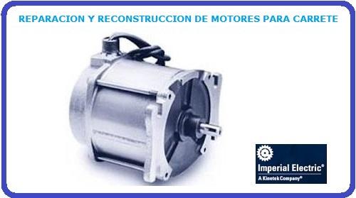 REPARACION Y RECONSTRUCCION DE MOTORES PARA CARRETE