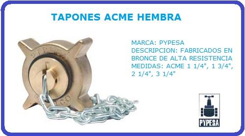 TAPON ACME HEMBRA