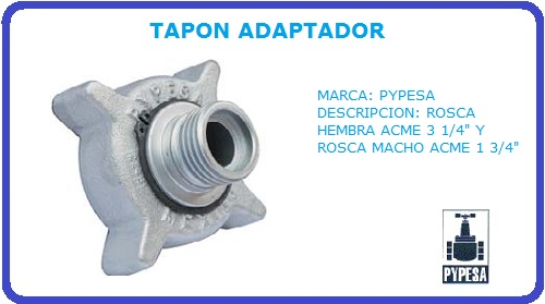 TAPON ADAPTADOR