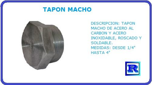 TAPON MACHO
