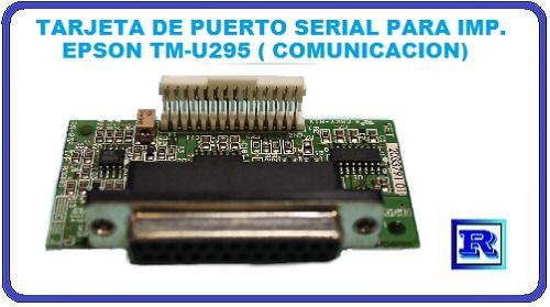 TARJETA DE COMUNICACION