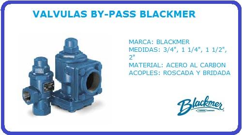 VALVULA BY-PASS BLACKMER, BYPASS, VALVULA DE RETORNO, BLACKMER