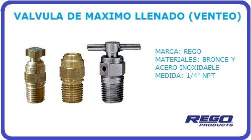 VALVULA DE MAXIMO LLENADO